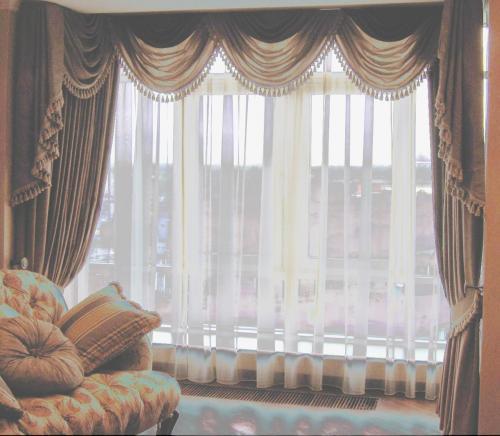 Как сшить шторы и тюль в зал фото 12